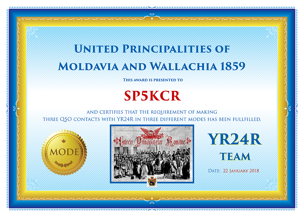 YR24R Mode Award for SP5KCR www